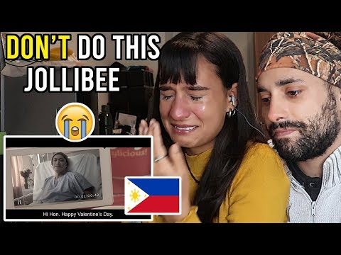 😭 EMOTIONAL Reaction JOLLIBEE Commercial Philippines