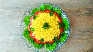 БЕСПОДОБНЫЙ САЛАТ! Весь СЕКРЕТ В ЗАПРАВКЕ! Salad