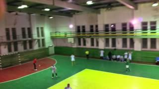 мини-футбол чемп.г.Владивостока Концентрат-Олимп 1 тайм