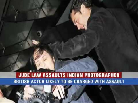 Jude Law assaults Indian photographer
