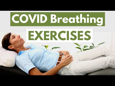 Covid Breathing Exercises and the BEST Breathing Positions  Physio for RELIEVING Shortness of Breath