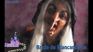 Maquillaje Bruja de Blancanieves Halloween