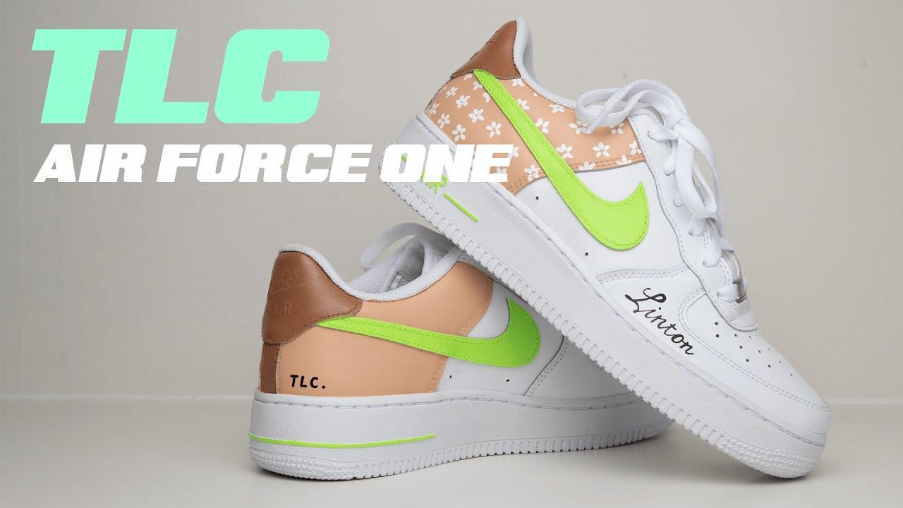 TLC CUSTOM SNEAKER // AIR FORCE ONE