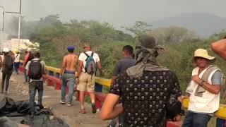Luis Medina - Marine infiltrado en guarimbas de la frontera