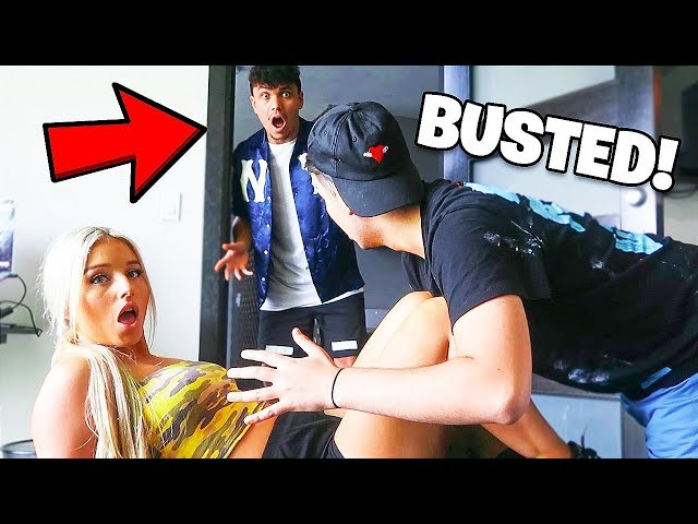 I Spent the Night in my Girlfriends House & She Got Caught Cheating... (24 Hour Challenge)