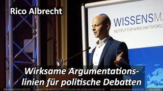 Rico Albrecht: Wirksame Argumentationslinien für politische Debatten