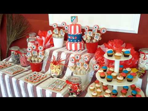 IDEAS FOR TABLE OF SWEETS AND DESSERTS CHILDREN'S PARTY