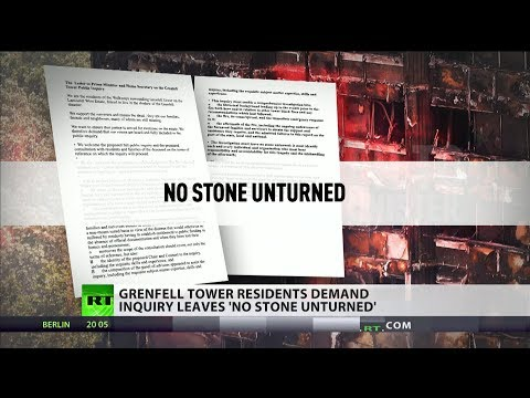 Grenfell residents demand inquiry leaves 'no stone unturned'