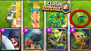 Clash Royale - Rush TOP FR + TOURNOI ?!