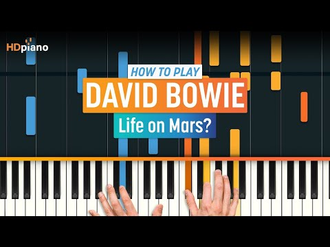 "ALL PARTS FREE – How To Play ""Life on Mars?"" by David Bowie 