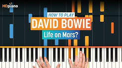 "ALL PARTS FREE - How To Play ""Life on Mars?"" by David Bowie 