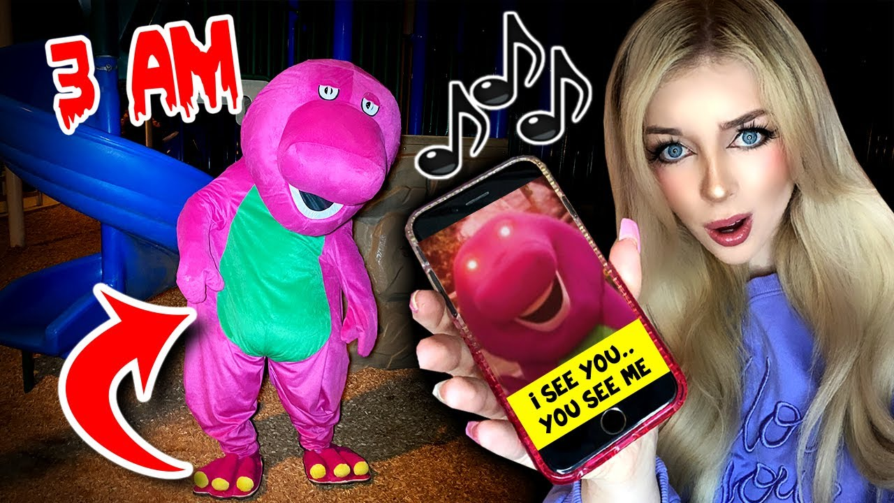 Download DO NOT PLAY THE BARNEY THEME SONG BACKWARDS AT 3AM!! *HE APPEARS* (SCARY!)