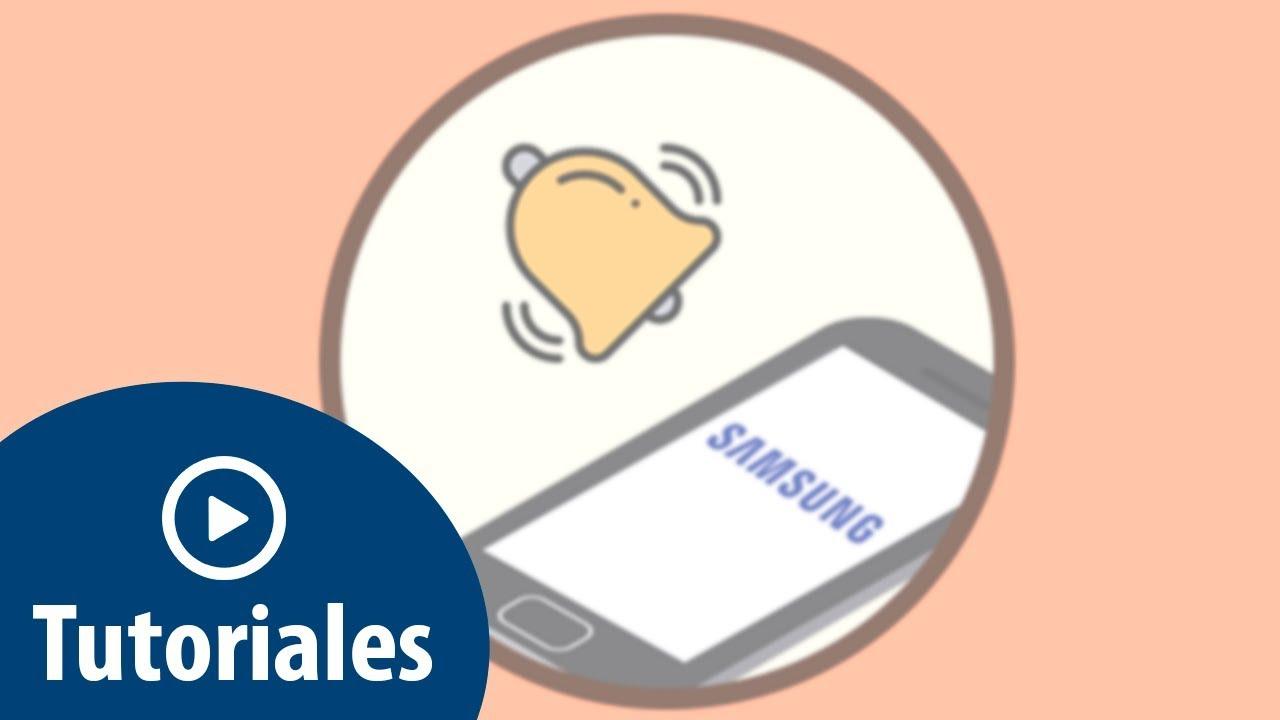 Alarma Calendario Samsung.Como Configurar Sonido Alarma En Samsung Galaxy A8 2018