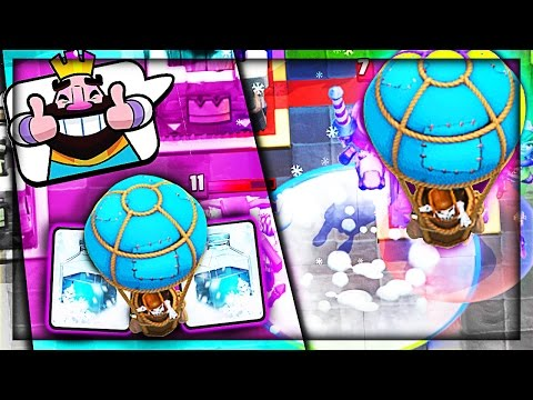 BALLOON FREEZE IS OP!! • YOU CAN USE THIS • Clash Royale
