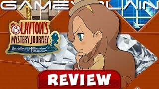 Layton's Mystery Journey: Deluxe Edition - REVIEW (Nintendo Switch) (Video Game Video Review)