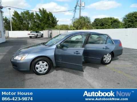 2007 Honda Accord In Plantation FL For Sale