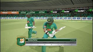 Bangladesh Vs Pakistan || Asia Cup 2018 Super 4 12th match || Ashes Cricket Gameplay