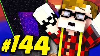 MINECRAFT: IL PRIMO PORTALE!! ESPLORIAMO IL NETHER!! #144