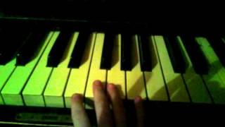 Урок игры на пианино песня маленькой ёлочке холодн