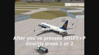 FSX Pushback Tutorial