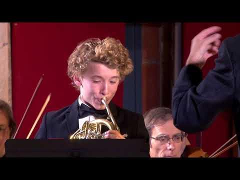2ème concerto pour cor de W.A Mozart, Florian Le Bleis (French Horn), Prodiges