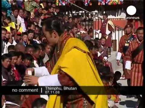 King Jigme Khesar NamgyelWangchuck becomes king in Bhutan