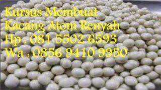 Kursus Membuat Kacang Atom Renyah