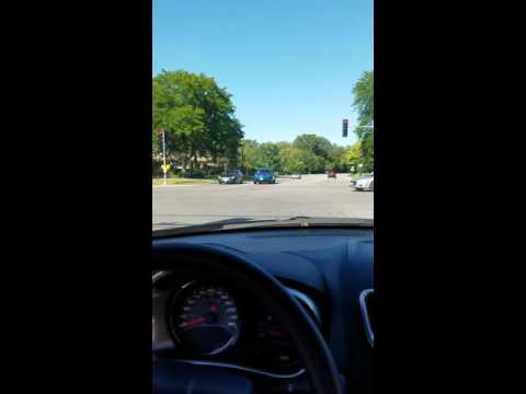 Driving in Evanston IL