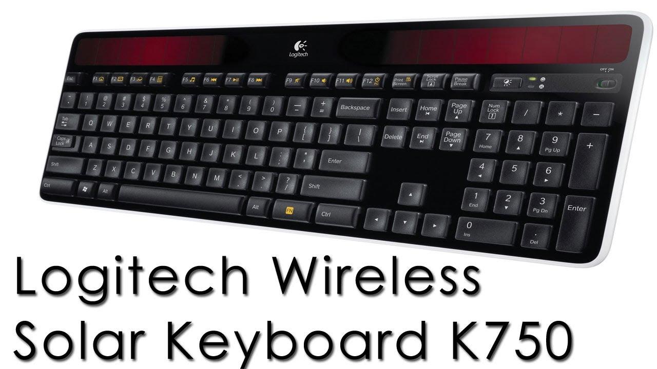 355234ac581 Logitech Wireless Solar Keyboard K750 Recenzja\Review - YouTube