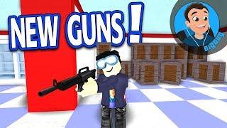 J'ai eu 4 nouvelles armes à feu et Nivelé jusqu'à 37 TIMES dans Roblox Zombie Attack!