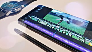 How I Edit Videos On My Samsung Galaxy Note 10 Plus