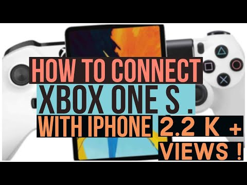 How to Connect Xbox one S controller With iPhone !   #ios13 (No jail break)