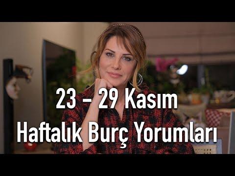 İLETİŞİM İN! / İLİŞKİLER OUT!  23 - 29 Kasım Haftalık Burç Yorumları - Hande Kazanova ile Astroloji