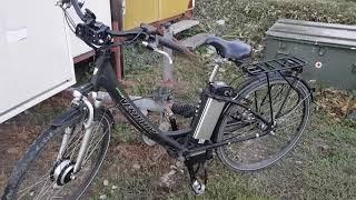 видео Электровелосипед SkyBike LIRA PLUS (350W-36V)