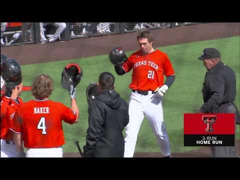 Texas Tech Baseball Vs. Southern: Highlights (W, 13-2) | 2.25.2020