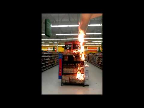 A FIRE IN THE DURANGO WALMART!!!!!!