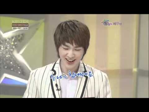 Onew moment #2 - Dubu singing noona cheer up