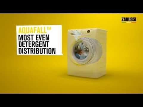 Zanussi Aquafall & Powerjet Technology