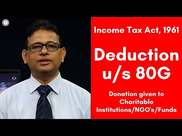Tax Exemption for Donation under section 80G   Cash Donation   Limit of Donation u/s 80G   Taxpundit