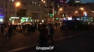 Драка болельщиков в Киеве2