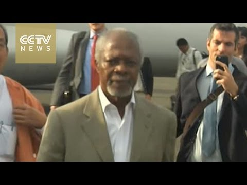 Former UN chief visits Rakhine State amid Rohingya crisis