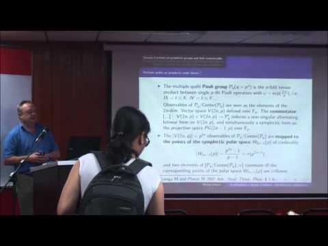 Prof. Dr. Michel Planat - Michel Planat Quantum Information in Grothendieck's Coset Space-INSPEM UPM