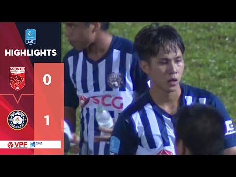 Highlights | Long An - Bà Rịa Vũng Tàu | Minh Bình lập công, đội khách giành trọn 3 điểm | VPF Media