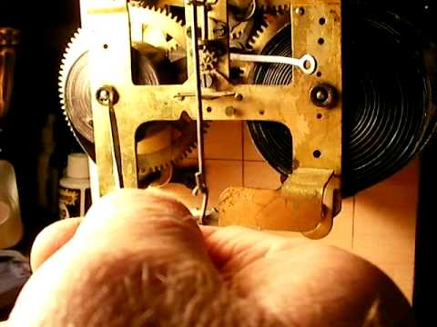 Seth Thomas mantle clock resurrection 1