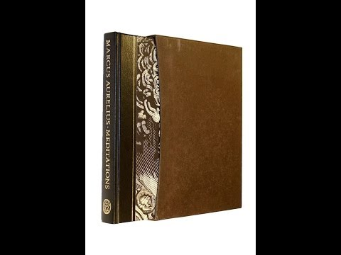 Marcus Aurelius' Meditations - A Folio Society Review