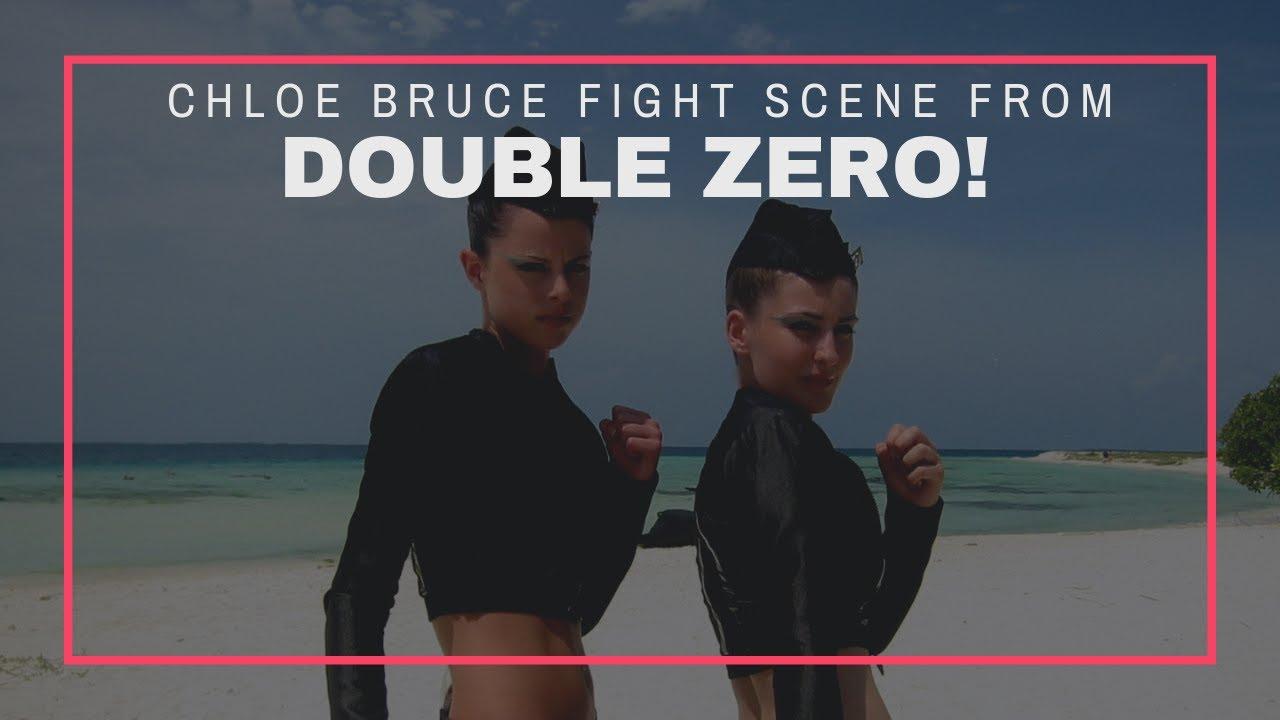 Chloe Bruce stars as action actor in Double Zero   Double Zero Fight scene