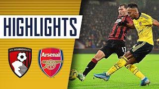 HIGHLIGHTS | Bournemouth 1-1 Arsenal | Premier League | Dec 26, 2019