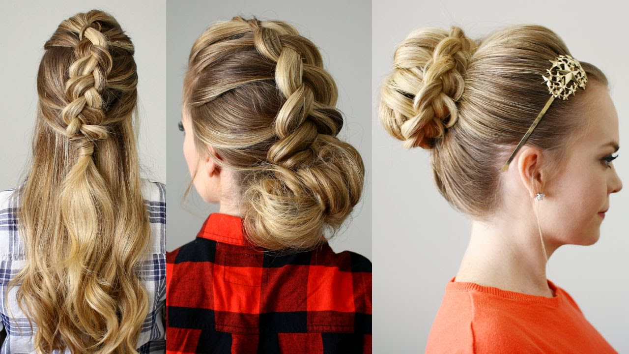 3 Fall Hairstyles Missy Sue Youtube
