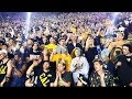 Cal vs Ole Miss late 4th Q and postgame celebration