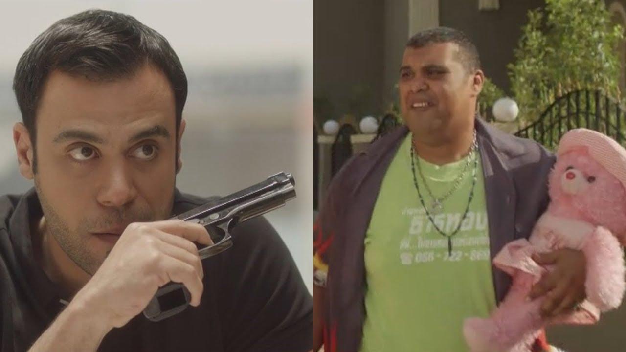 لما-تبقي-ظابط-و-حد-يجيب-لخطيبتك-هدية-يولع-الدبدوب-على-اللي-جابه-كوميديا-محمد-إمام-وتارا-عماد